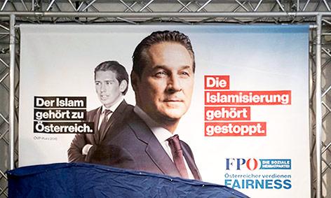 FPÖ-Wahlplakat