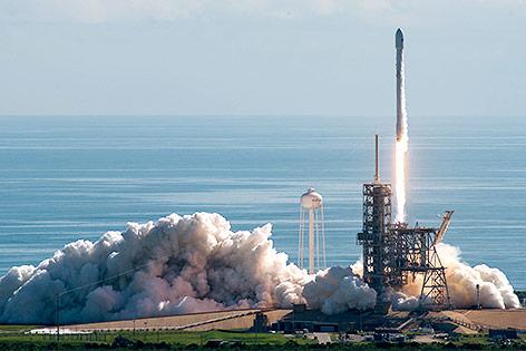 Start der SpaceX-Rakete in Florida