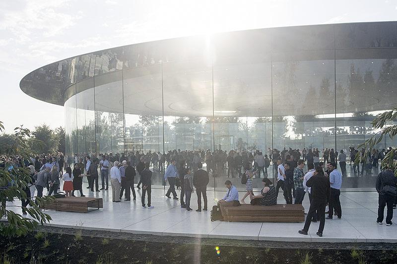 Steve Jobs Theatre in Cupertino