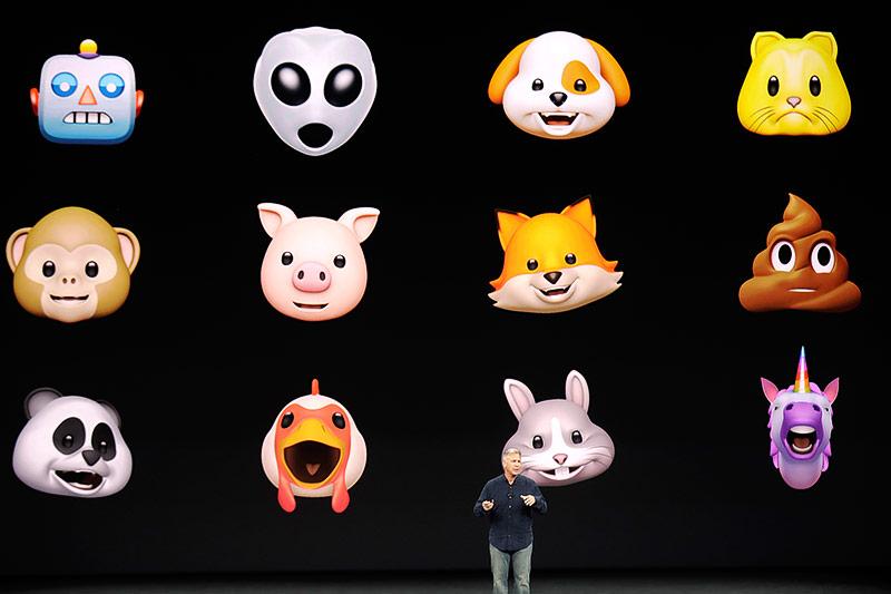 Phil Schiller (Apple) zeigt neue Emoticons