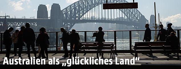 Menschen in Sydney