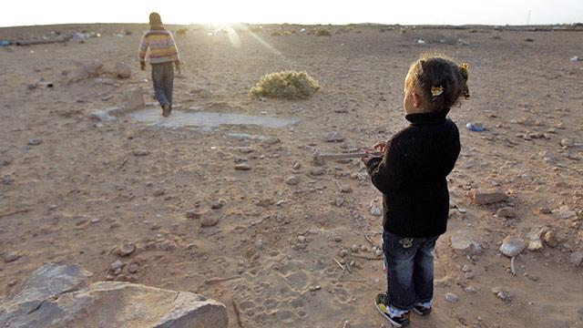Kind in der Wüste