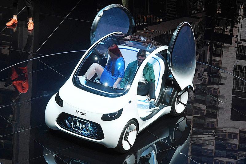 Der Kia proceed auf der Internationalen Automobil-Ausstellung (IAA) in Frankfurt am Main