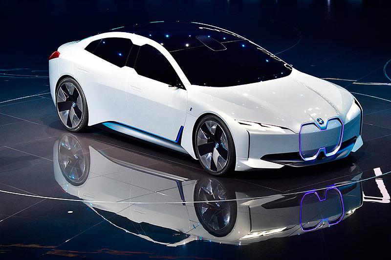 Der BMWi Vision Dynamic auf der Internationalen Automobil-Ausstellung (IAA) in Frankfurt am Main