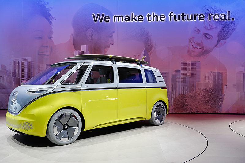 Der Volkswagen id auf der Internationalen Automobil-Ausstellung (IAA) in Frankfurt am Main