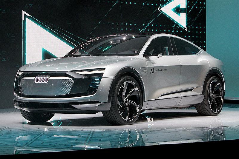 Audi Elaine auf der Internationalen Automobil-Ausstellung (IAA) in Frankfurt am Main