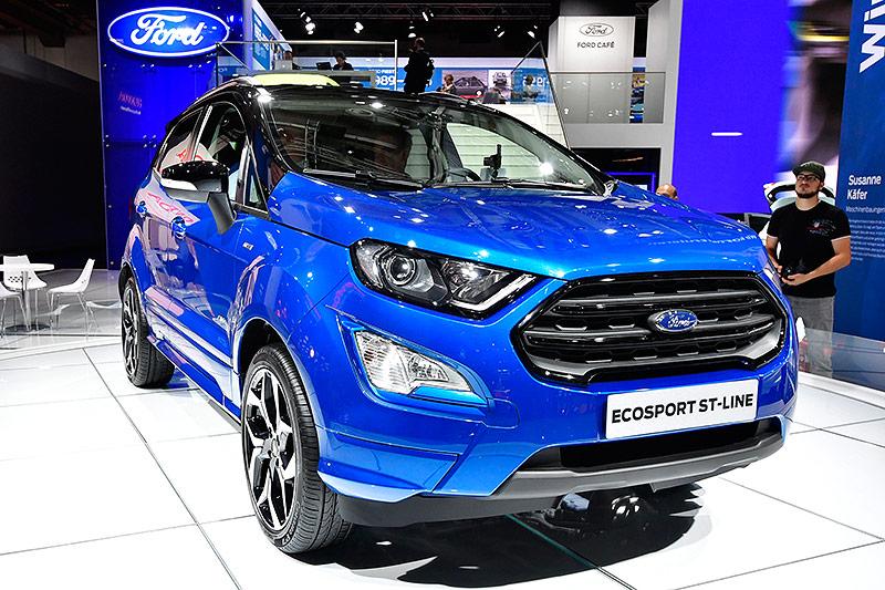 Ein Ford Ecosport St-Line auf der Internationalen Automobil-Ausstellung (IAA) in Frankfurt am Main