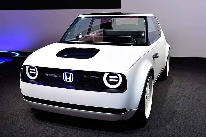 Ein Honda Urban EV concept car auf der Internationalen Automobil-Ausstellung (IAA) in Frankfurt am Main