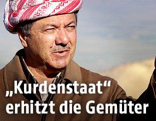 Präsident der Autonomen Region Kurdistan Masoud Barzani
