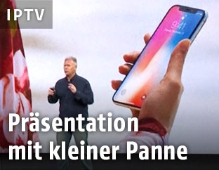 Präsentation des Apple iPhone X