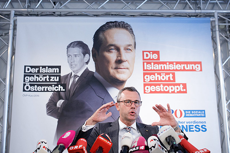 Norbert Hofer präsentiert FPÖ-Wahlprogramm