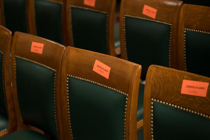 Eindrücke von der Renovierung des Parlaments