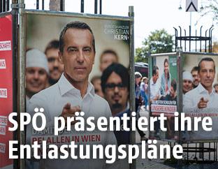 Wahlplakate der SPÖ