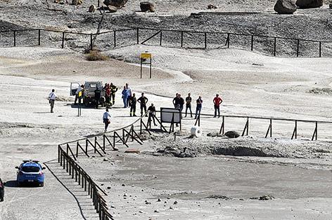 Eltern und Sohn sterben in Vulkankrater in Neapel