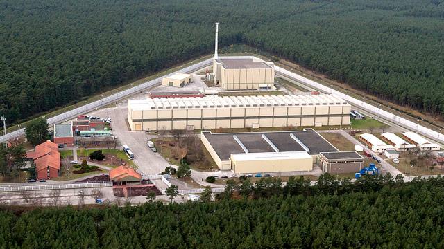 Atommüllzwischenlager nahe der deutschen Stadt Gorleben