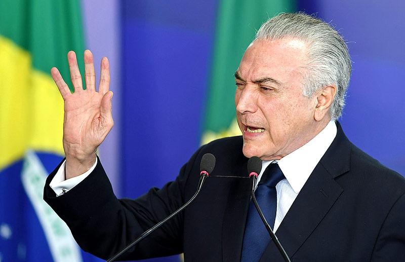 Brasilianischer Präsident Michel Temer