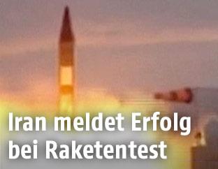 Raketenstart im Iran