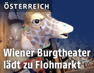 Flohmarkt im Burgtheater