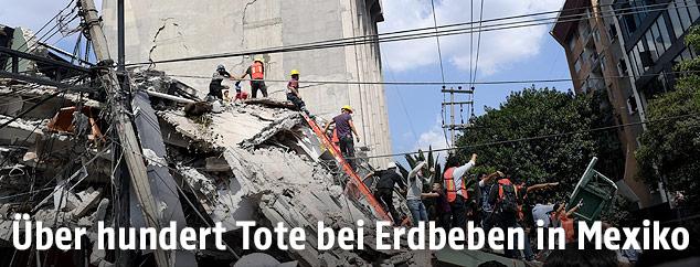 Eingestürztes Gebäude