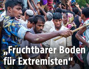Rohingya Flüchtlingslager