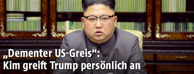 Norkoreas Machthaber Kim Jong Un