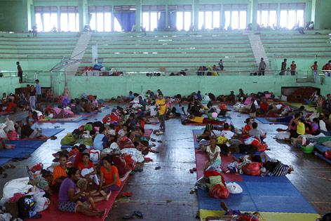 Notunterkunft auf Bali