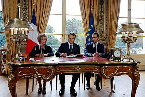 Macron besiegelt die Arbeitsmarktreform