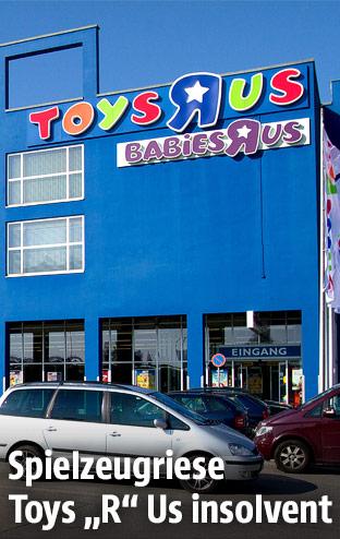 Eine Filiale von Toys R Us