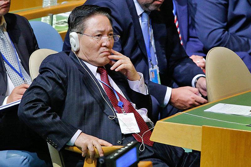 Nordkoreanischer Botschafter Ja Song Nam