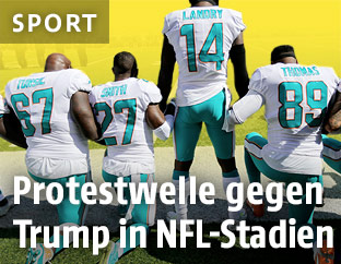 Protest der Miami Dolphins