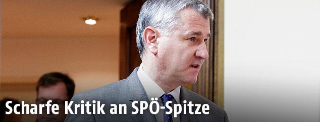 SPÖ Bundesgeschäftsführer Georg Niedermühlbichler