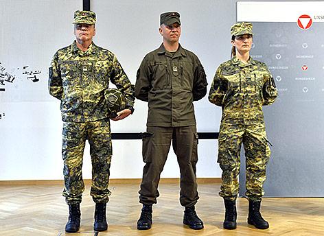Neue Bundesheer-Uniformen