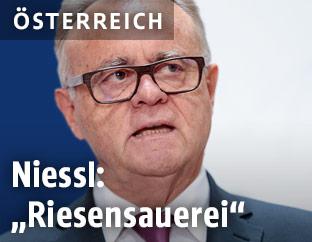 Der Landeshauptmann des Burgenlandes Hans Niessl