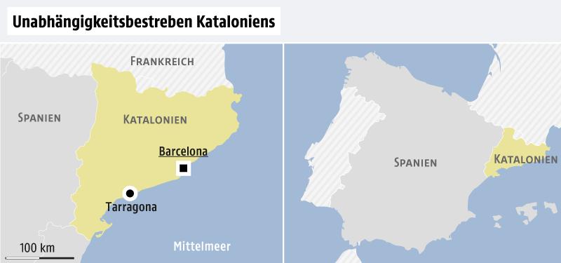 Spanien Katalonien Karte.Hochstgericht Verbietet Sitzung News Orf At
