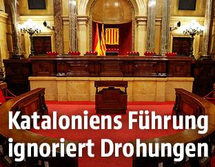 Parlament in Katalonien