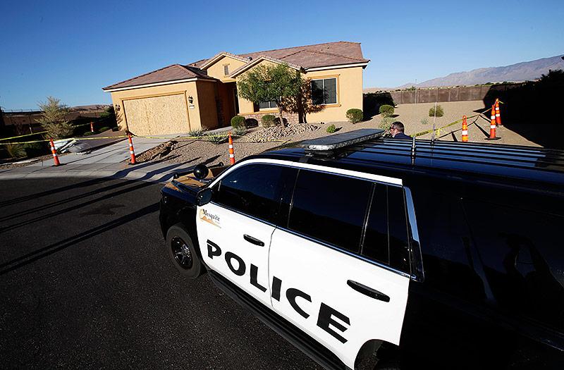 Haus von Stephen Paddock im US-Bundesstaat Nevada