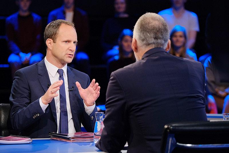 Matthias Strolz (NEOS) und Josef Moser (ÖVP)