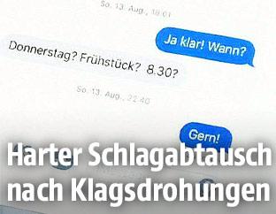 SMS-Verlauf
