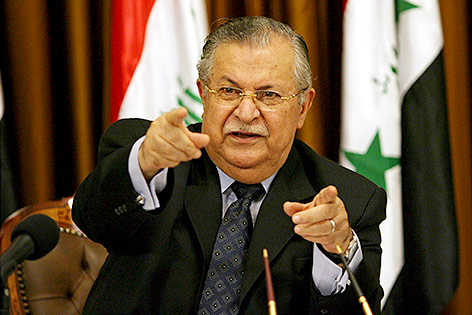 Irakischer Ex-Präsident Dschalal Talabani
