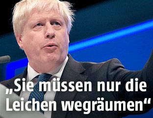 Britischer Außenminister Boris Johnson
