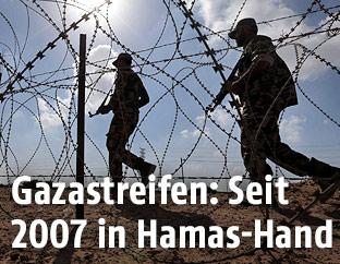 Sicherheitskräfte im Gazastreifen