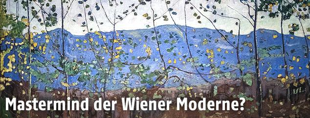 """Bildausschnitt aus Ferdinand Hodlers """"Waldbach bei Leissigen"""""""