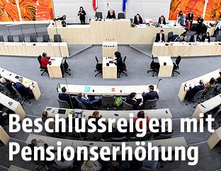 Sitzung des Nationalrates im Ausweichquartier in der Hofburg