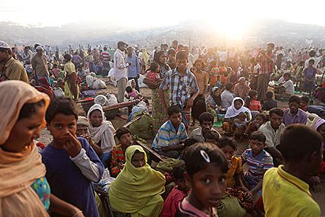 Flüchtlinge in Bangladesch