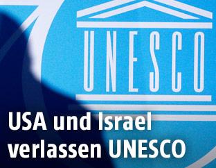 Schatten über UNESCO-Logo