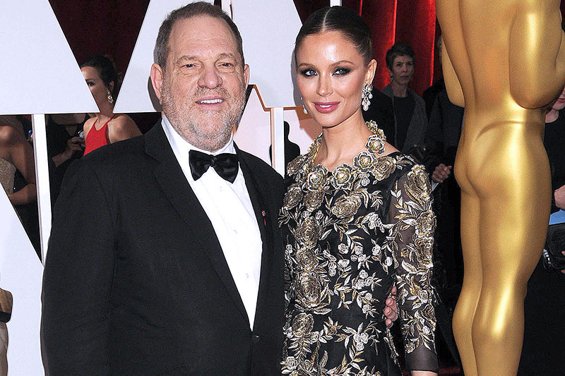 Hollywood-Mogul Harvey Weinstein und Georgina Chapman bei den Academy Awards