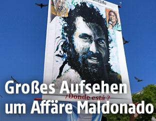 Porträt vom Santiago Maldonado