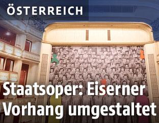 Neuer Eiserner Vorhang in der Wiener Staatsoper