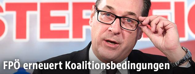 FPÖ-Bundesparteiobmann Heinz Christian Strache