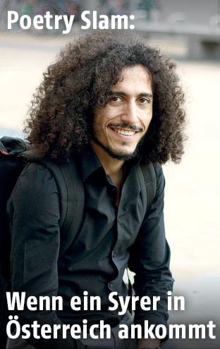 Poetry Slammer Omar Khir Alanam